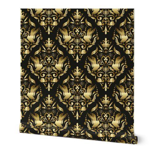 damask pattern1