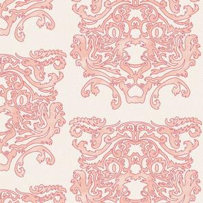 Big Cat Damask - pink-01-01