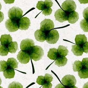 SHAMROCKS 5x5 ©Julee Wood