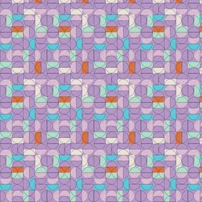 Wedges - Purple Rose