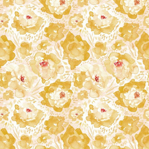 Rosy Floral Sunshine Medium Scale