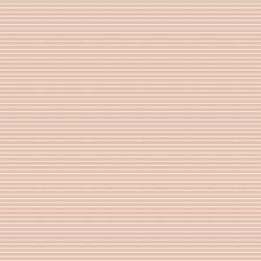 Stripes in Blush-mini