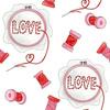 Love_cross-stitching