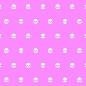 Pink Skull Polkadots