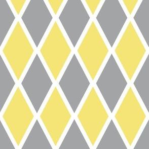 Harlequin Pattern - Ultimate Gray & Illuminating