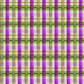 pretty in purple plaid BEIGE