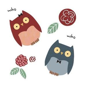 Girl and Boy Owl