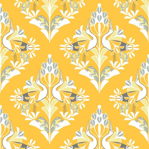 Yellow damask 24