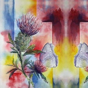 DST1 - Large - Dreams of Scottish Thistle