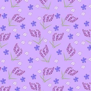 Lavender & Wildflowers