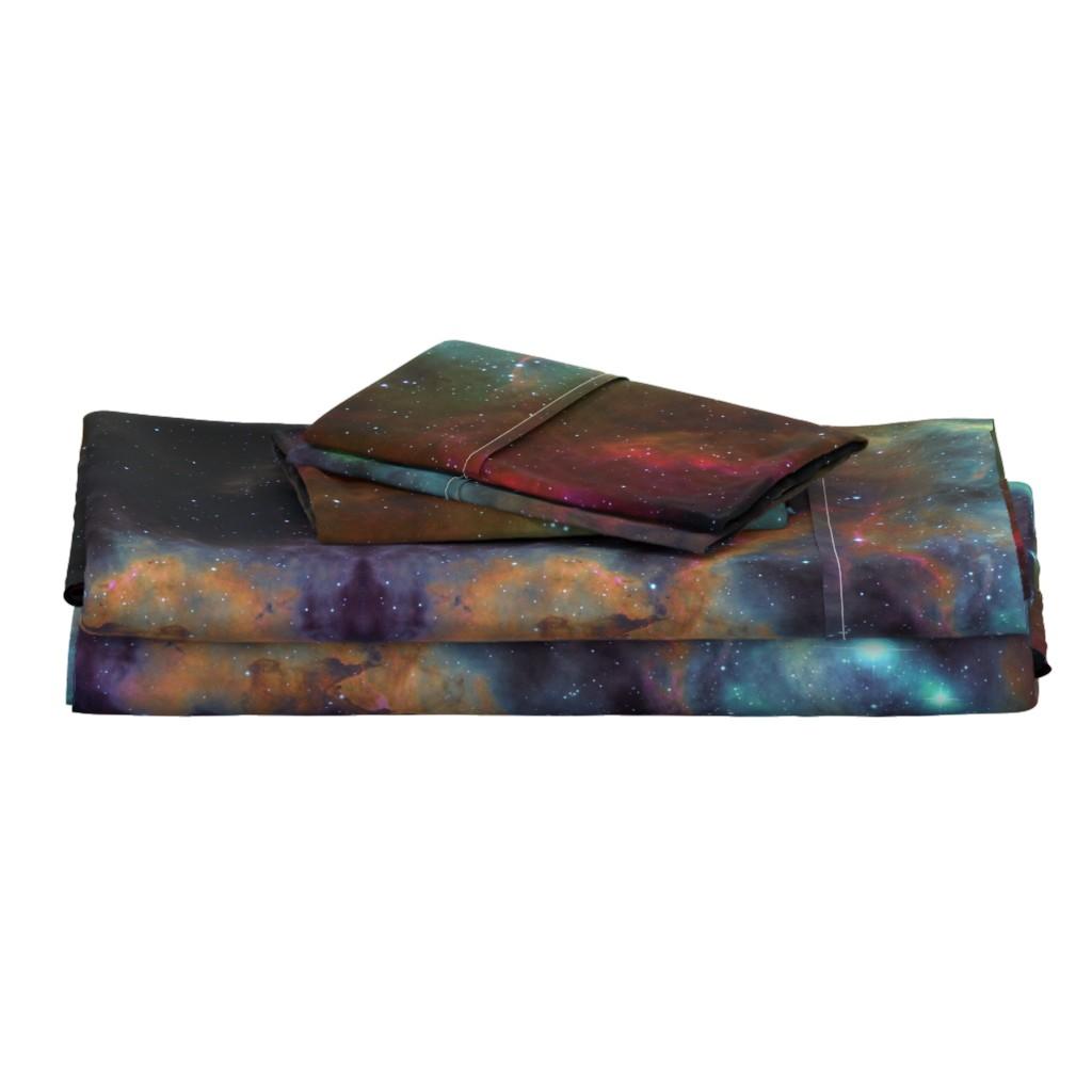 Langshan Full Bed Set featuring the Rosette Nebula (edited) by azizakadyri