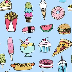 Fast Food (blue)