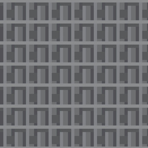 Geometric Monochrome