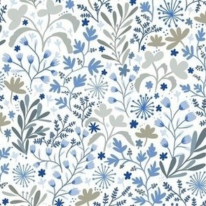 Floral Blue Grass-small