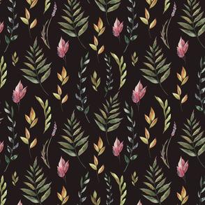 Woodland leaves