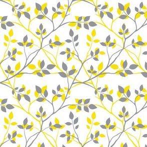 Yellow & Gray Branches (2021)