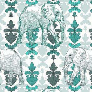 Elephants of Damask