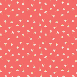 Daisy Days Coral small floral