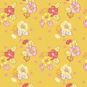 Daisy Days - Golden Rod Floral