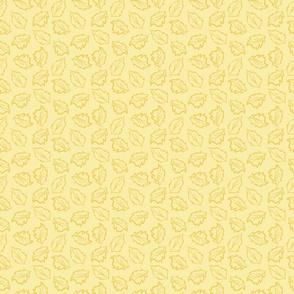 Daisy Days Yellow Leaf