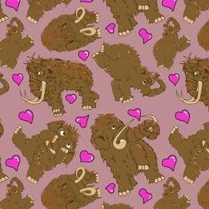 Mammoth pattern-valentine pinks