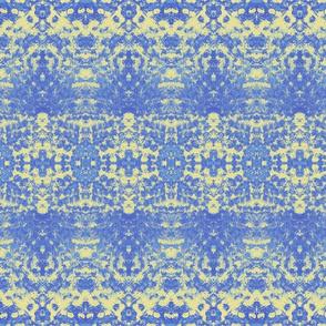Pointillism blueyellow