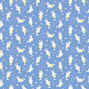 Merbunnies Merbunny Mermaid Bunnies Rabbits Bunny -Small  Scale