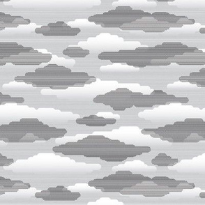 clouds in gray - small