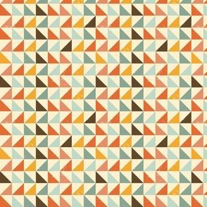retro triangles texture