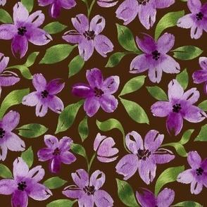 pretty in purple large scale chocolate