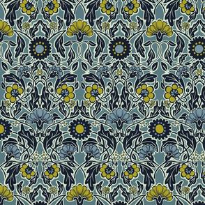 Arts & Crafts Floral - Medium