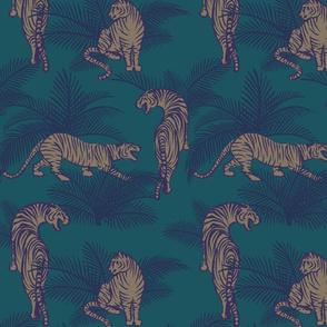 Jungle Tigers teal