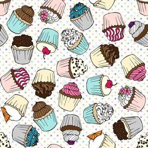 Cupcake Pastels by ArtfulFreddy