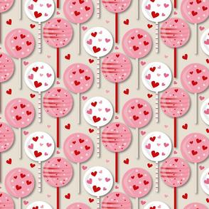 Valentines 2021 Lollipop White