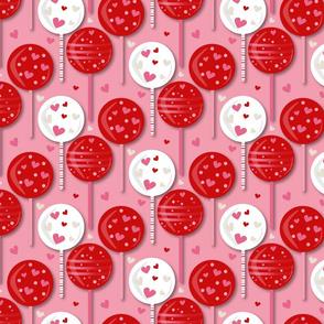 Valentines 2021 Lollipop Pink