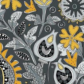 ZAFER yellow gray