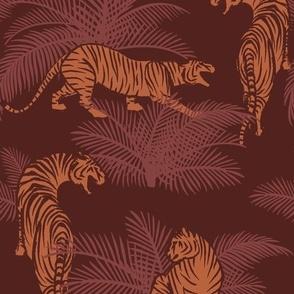 Jungle Tigers sunset