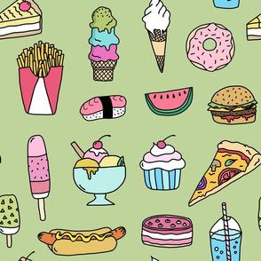 Fast Food (green)