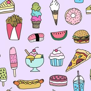 Fast Food (lilac)