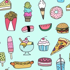 Fast Food (mint)