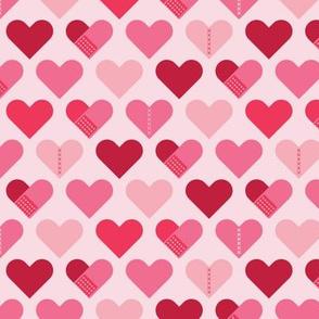 Healing Hearts-Light Pink
