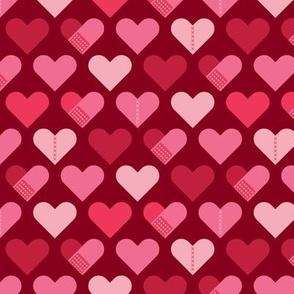 Healing Hearts-Dark Red