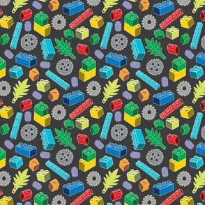 Colourful Building Blocks - Tiny