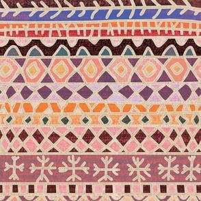 Boucherouite rug fabric
