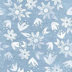 Erinn Floral Chambray