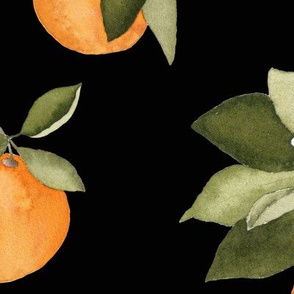 Dark Orange Blossom Large