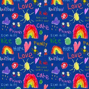 "Karina's-Art-and-Colors-10""x10"""