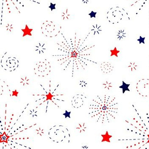 Fireworks and Stars