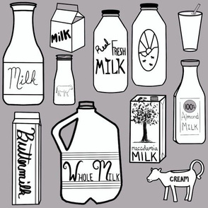 Milk Grey