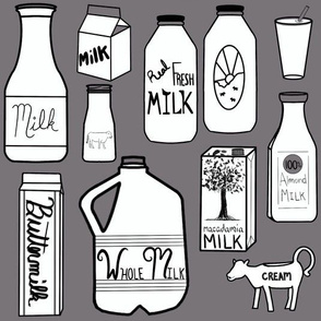 Milk Dark Grey